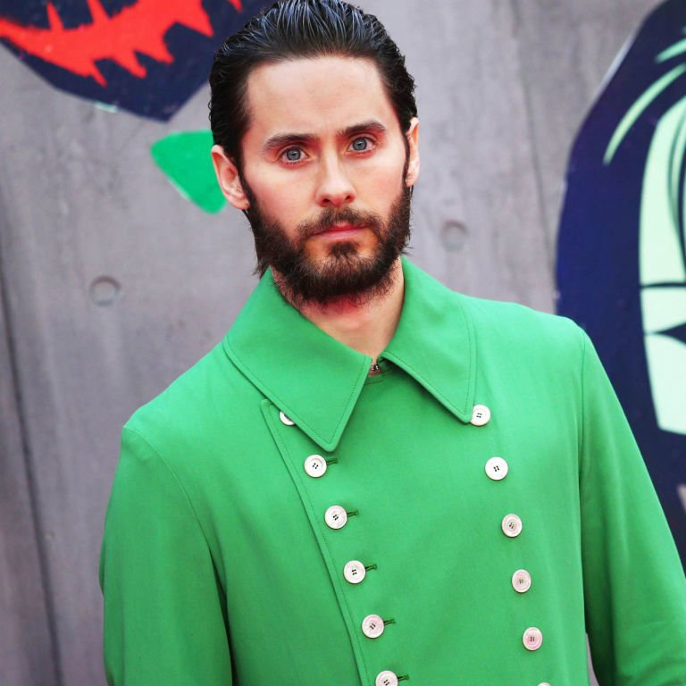 1d49450d77ee witness the exact moment jared leto fell deeply madly in love with this green  gucci jacket