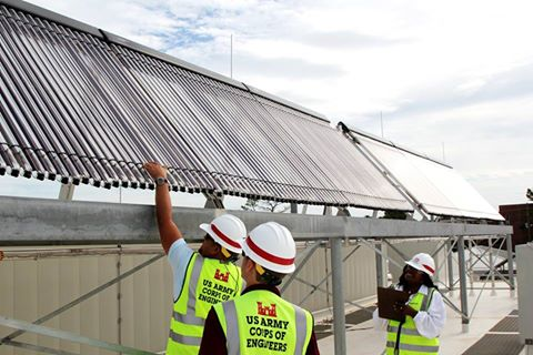 @CharlestonCorps reducing energy use at Fort Jackson by installing solar panels on the roofs of several buildings. https://t.co/PtbxBxhYkk