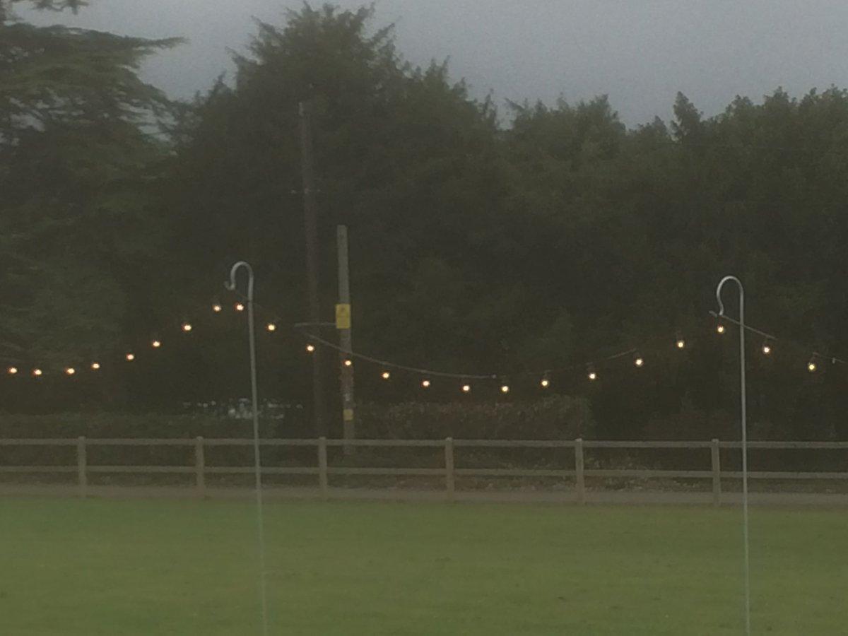 Our new shepherds crooks to hold lanterns and festoons #festoons #weddingidears #weddinglighting