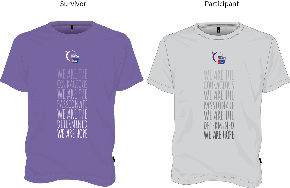 Relayforlifedalycity on twitter which design do you like for Relay for life t shirt designs