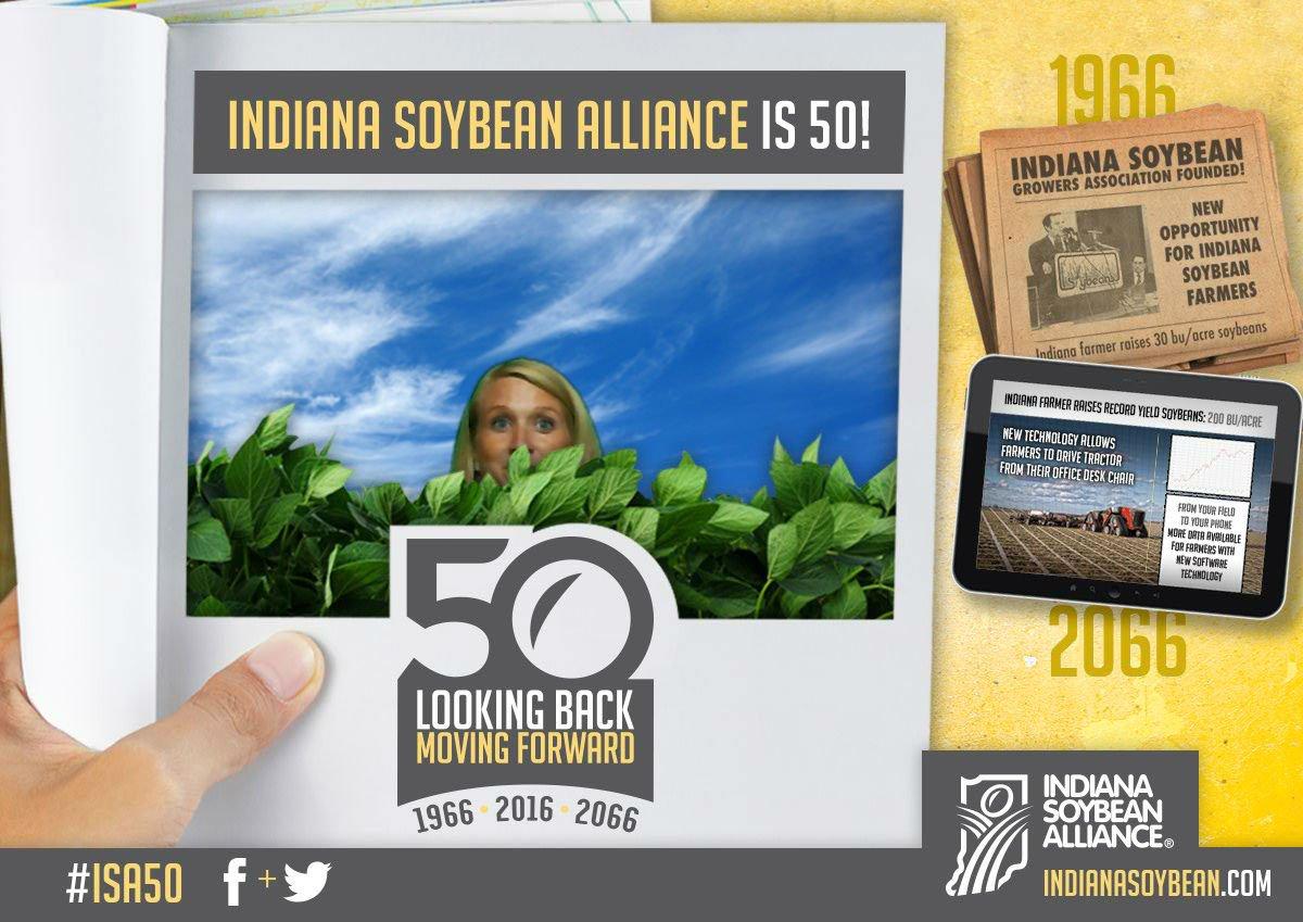 Say soybean! #isa50 https://t.co/HBLztjErXK