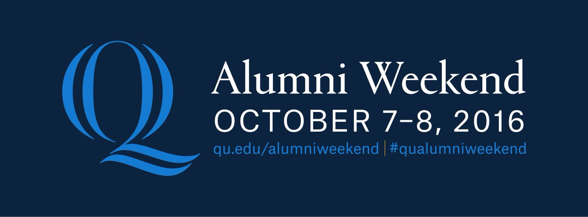 Registration is now open for Alumni Weekend! Visit https://t.co/gZMX5f4NLA for more. #qualumniweekend https://t.co/14zZcL8Eqp