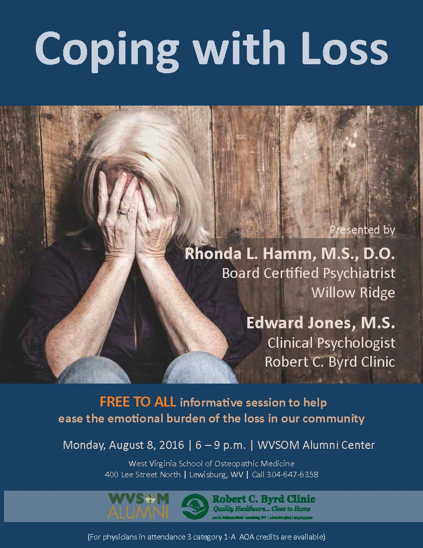 Wvsom On Twitter Attend A Free Session To Help Cope With The