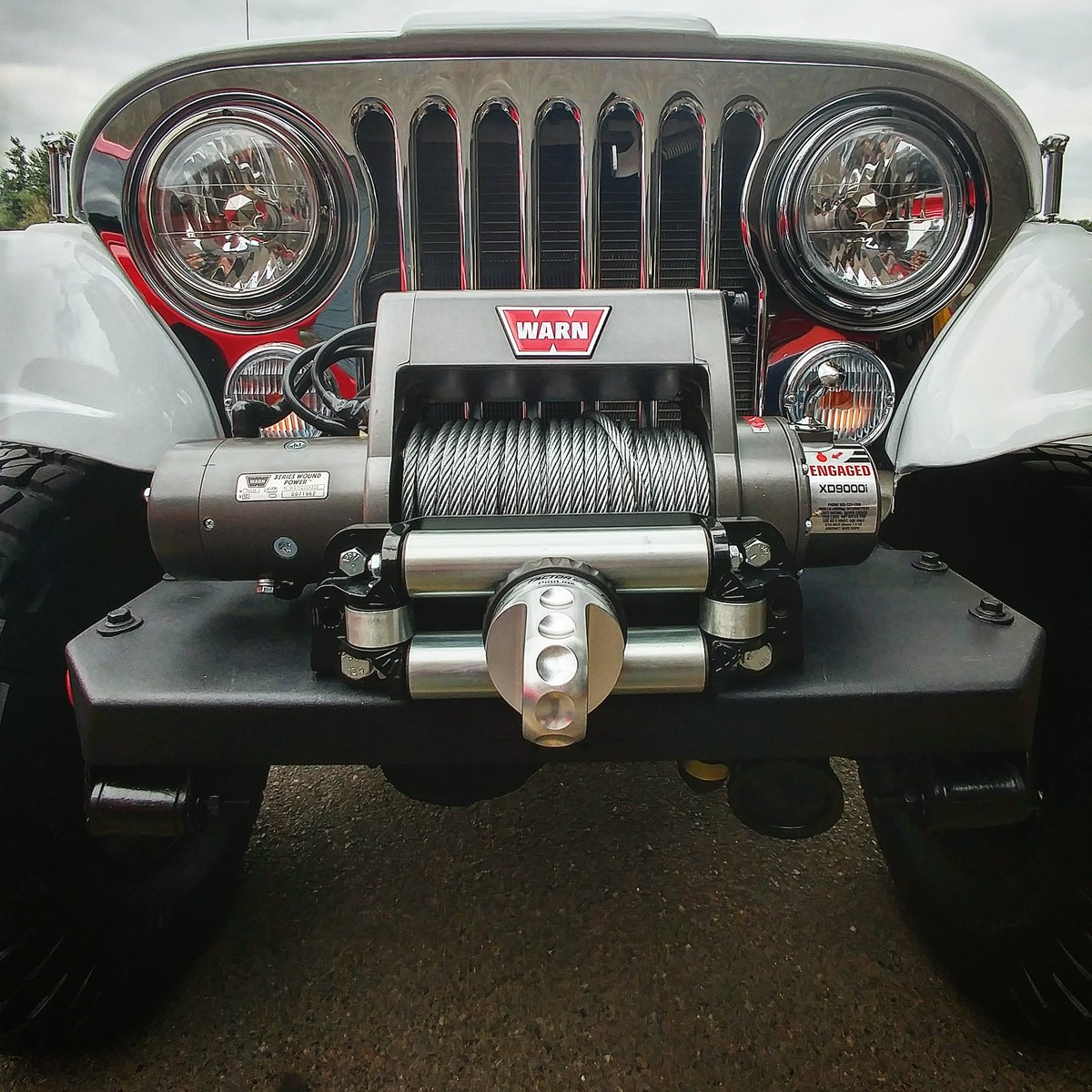 Jeep Scrambler w/383 Stroker + WARN XD9000i = #GOPREPARED https://t.co/BOnAESqoF7