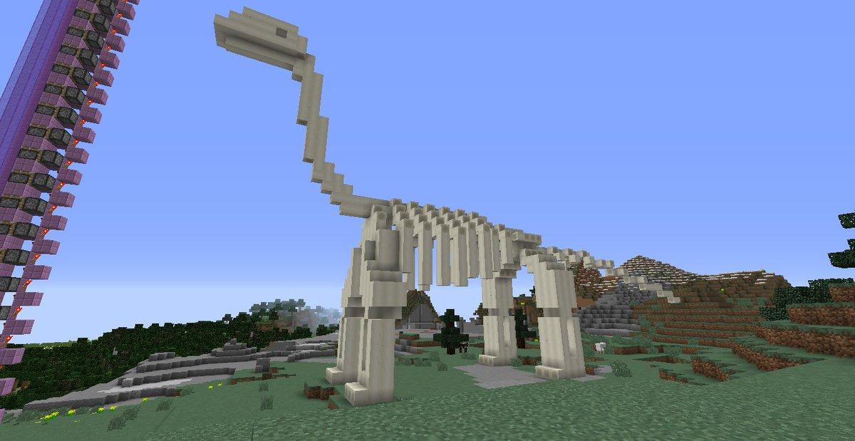 minecraft creations on twitter quotreally cool dinosaur