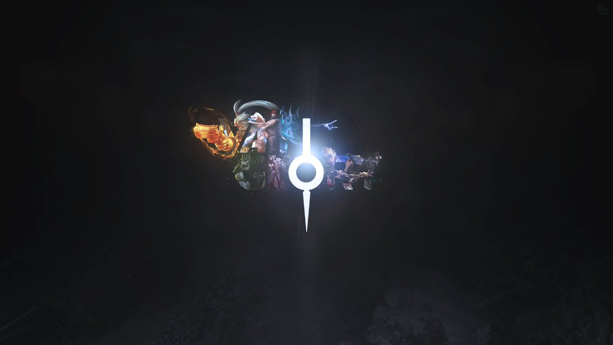 Hd wallpaper vainglory - Gankb Vo Aaronleonie A Custom Vainglory Desktop Wallpaper