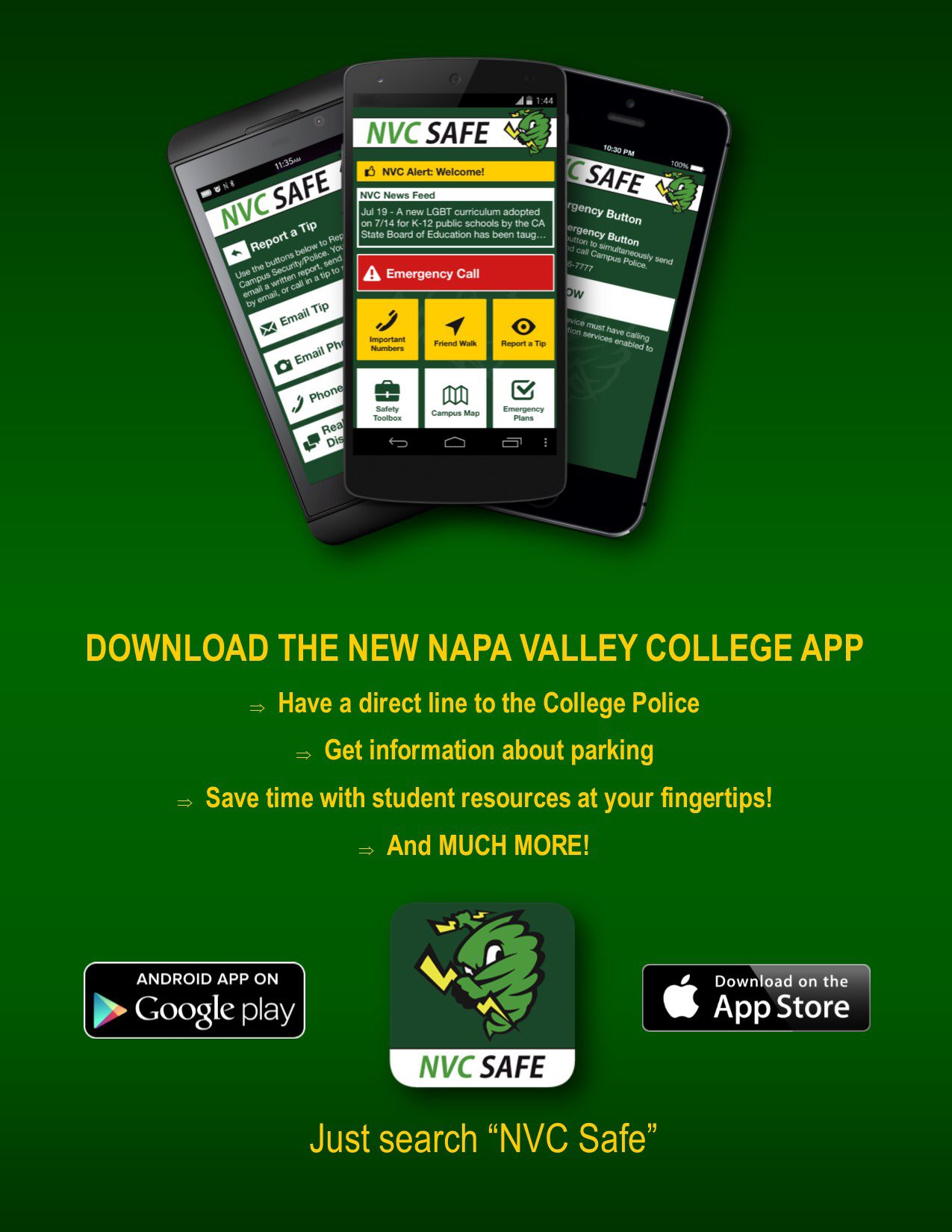 Napa Valley College On Twitter Hey Nvc Check It Out Download The
