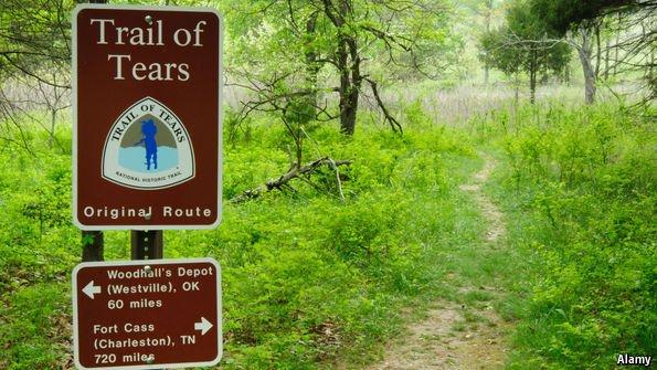 essay tears trail