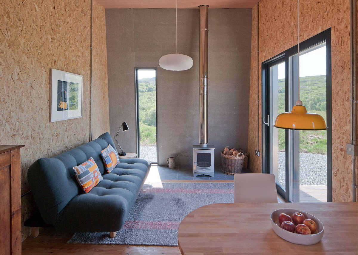 Nomad micro home on twitter modern self build tinyhouse retreat on scotlands isle of skye via dezeen httpst coplfv5ccakz httpst coml1qgqoiqk