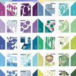 切手収集家に朗報!全国郵便局にて新発売の「ライフ・伝統色」切手!なんと20種類も!