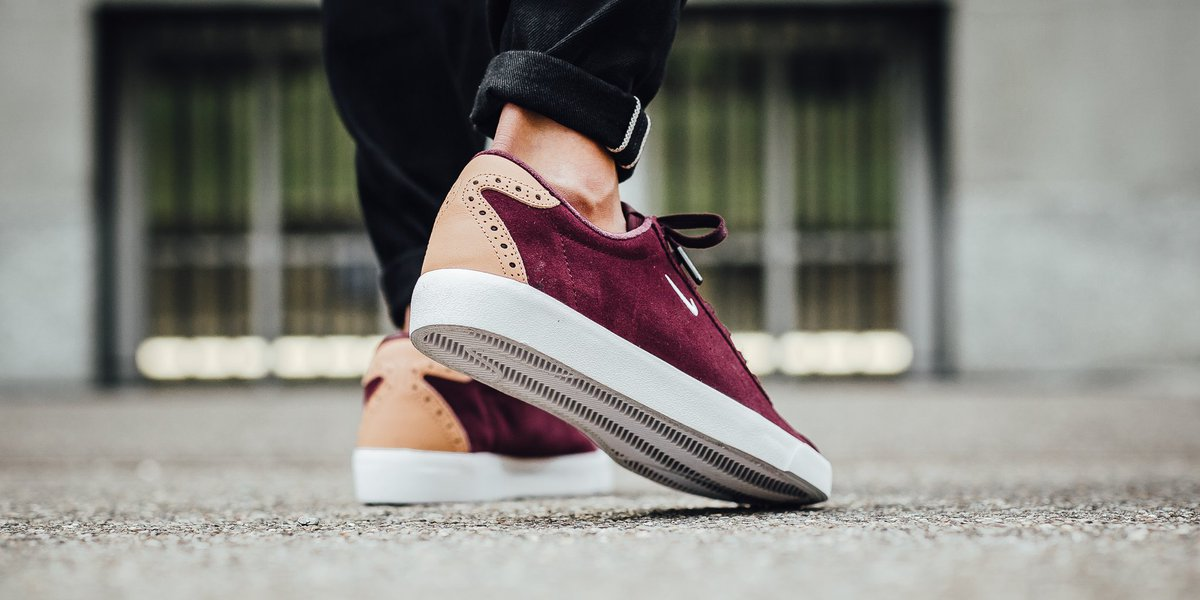 Nike Match Classic Suede - Night Maroon White SHOP HERE   https   t.co ElHrD6pRIR…