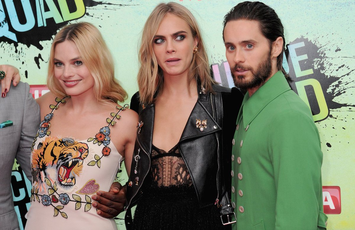 28dd568b2b0c a play by play of how jaredleto s green gucci jacket happened suicidessquad