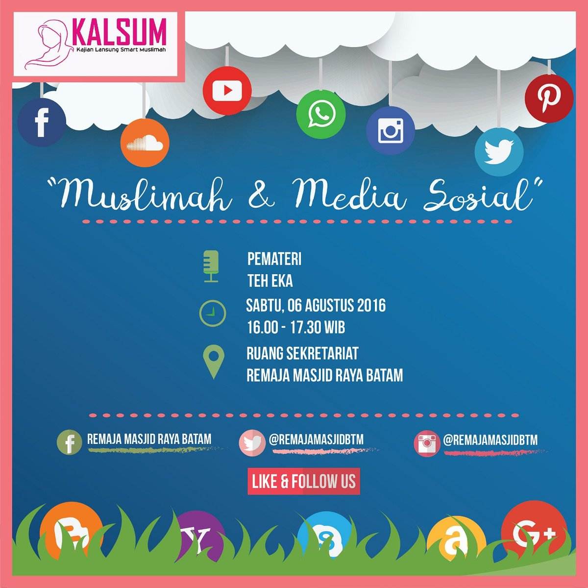 Media Tweets By Remaja Masjid Batam At Remajamasjidbtm Twitter