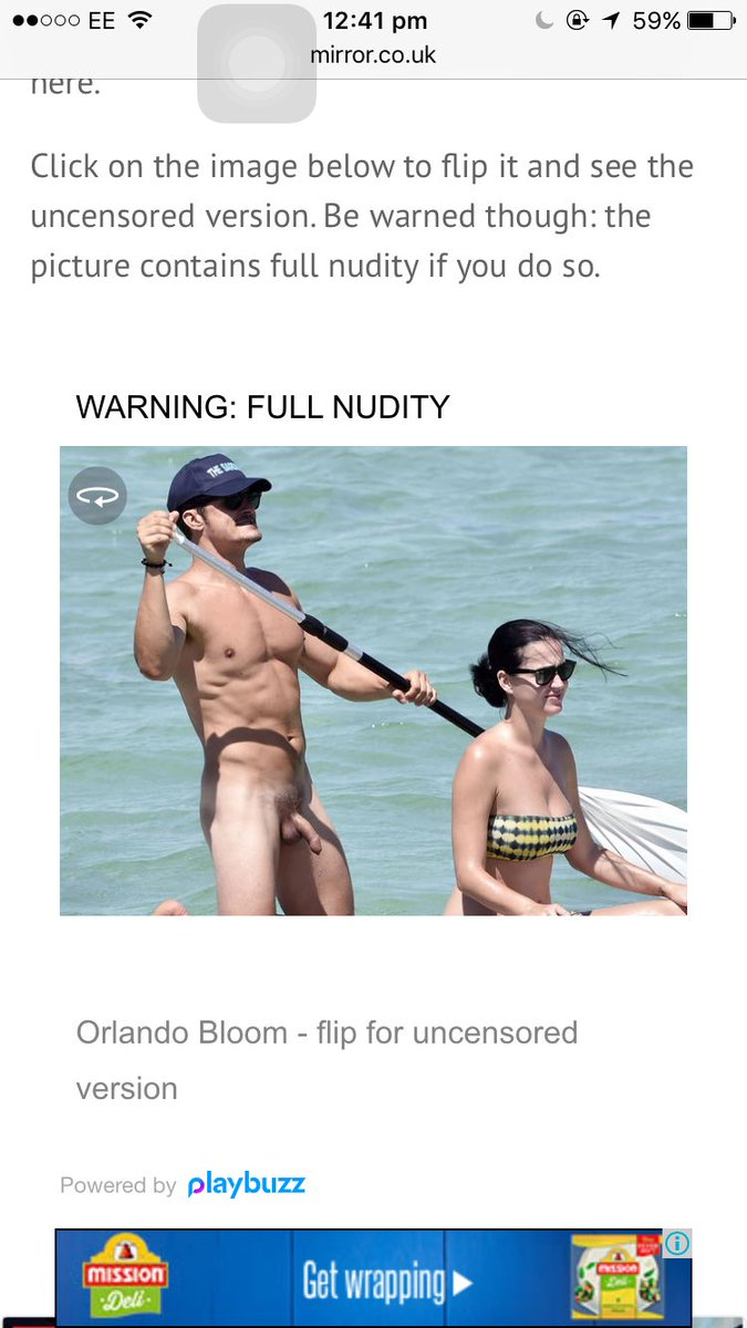 Orlando blomm nackt