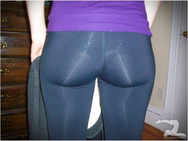 Share your Big girls in yoga pants touching phrase
