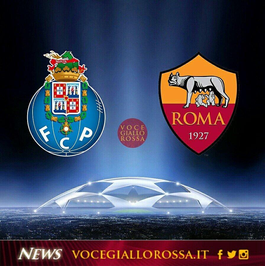 Porto-Roma, l'esito dei sorteggi play-off di Champions League 2016-17