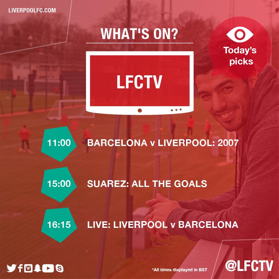 Liverpool Fc 4 0 Barcelona International Champions Cup: Liverpool V Barcelona: Live Matchday Blog
