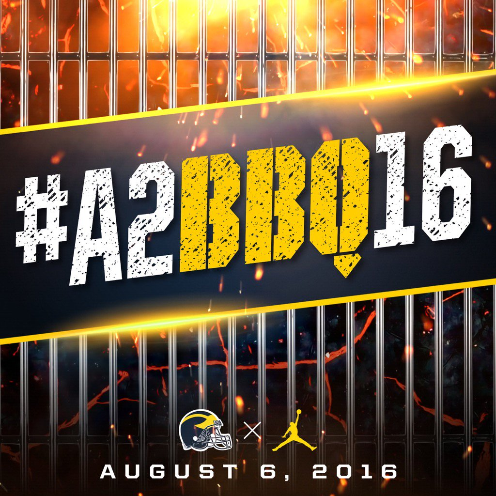 Thought of the Day: Better today than yesterday, better tomorrow than today! #A2BBQ16