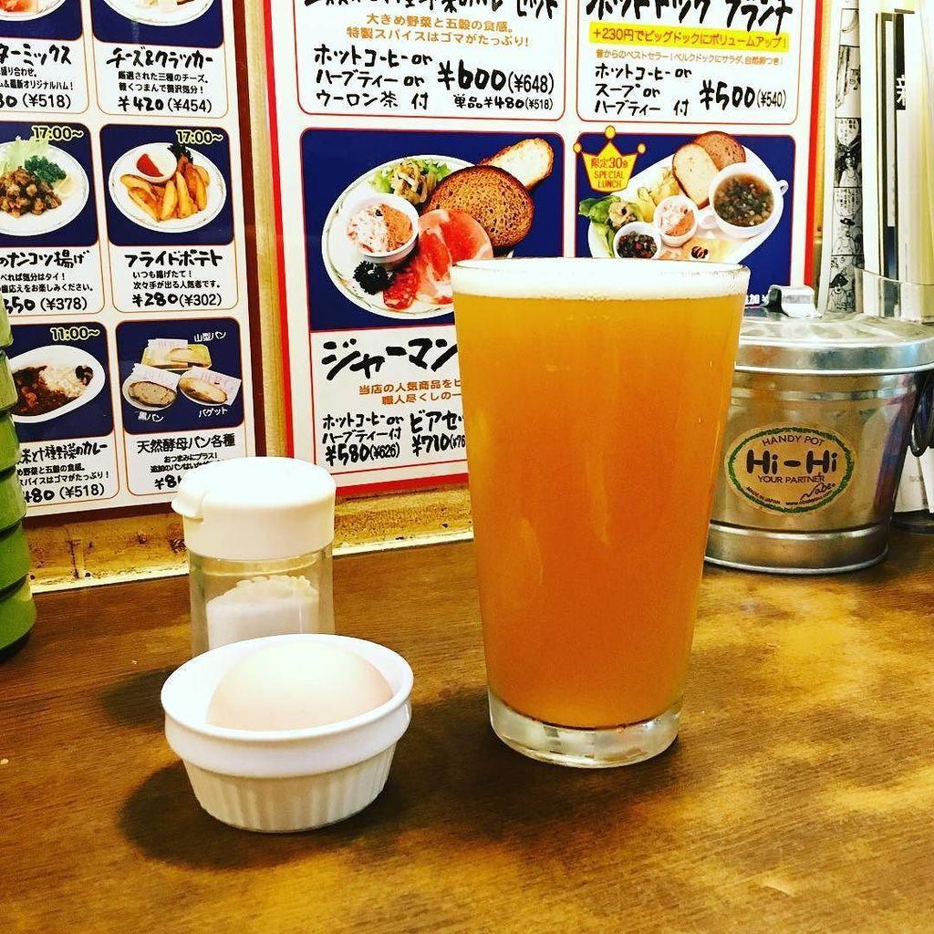 新宿の用事をダッシュで片付けベルクでハレヤマとゆで卵という事態。 https://t.co/WLN2JjKHOw https://t.co/9XcKAQj2IQ