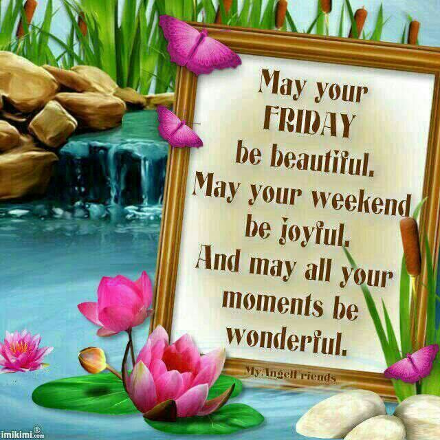 Happy friday blessings and images