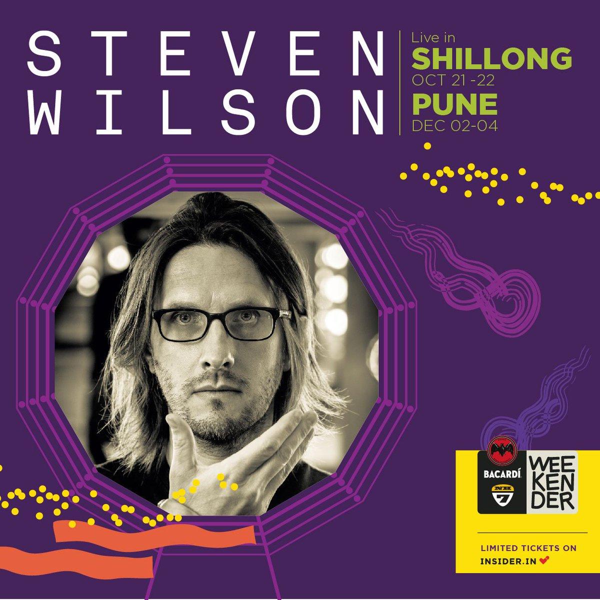 It's been a long wait. Don't hate me. @StevenWilsonHQ live at Bacardi NH7 Weekender Shillong and Pune. #lineup2016. https://t.co/xcN15YQ07U
