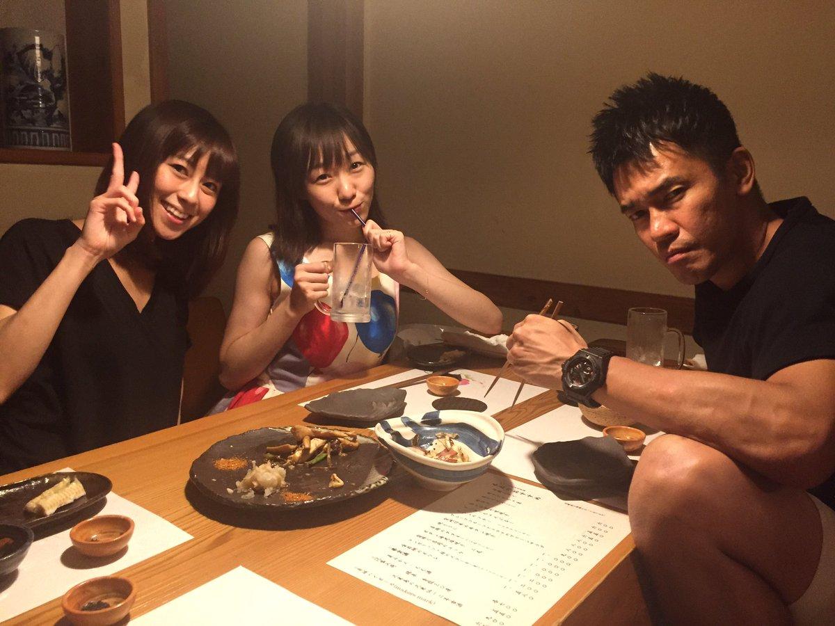 今夜も美味しいご飯を。武井さん、ごちそうさまでした! 小坂さん、須田さんもお疲れ様でしたー! ♯ごちゃまぜ天国 https://t.co/1TJABWHMXX