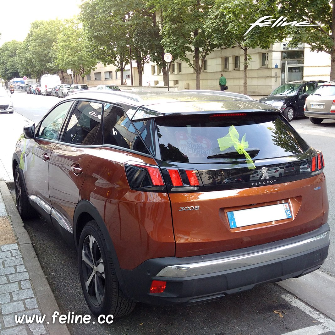f line on twitter une nouvelle peugeot3008 metallic copper en cours d 39 essais par peugeot. Black Bedroom Furniture Sets. Home Design Ideas