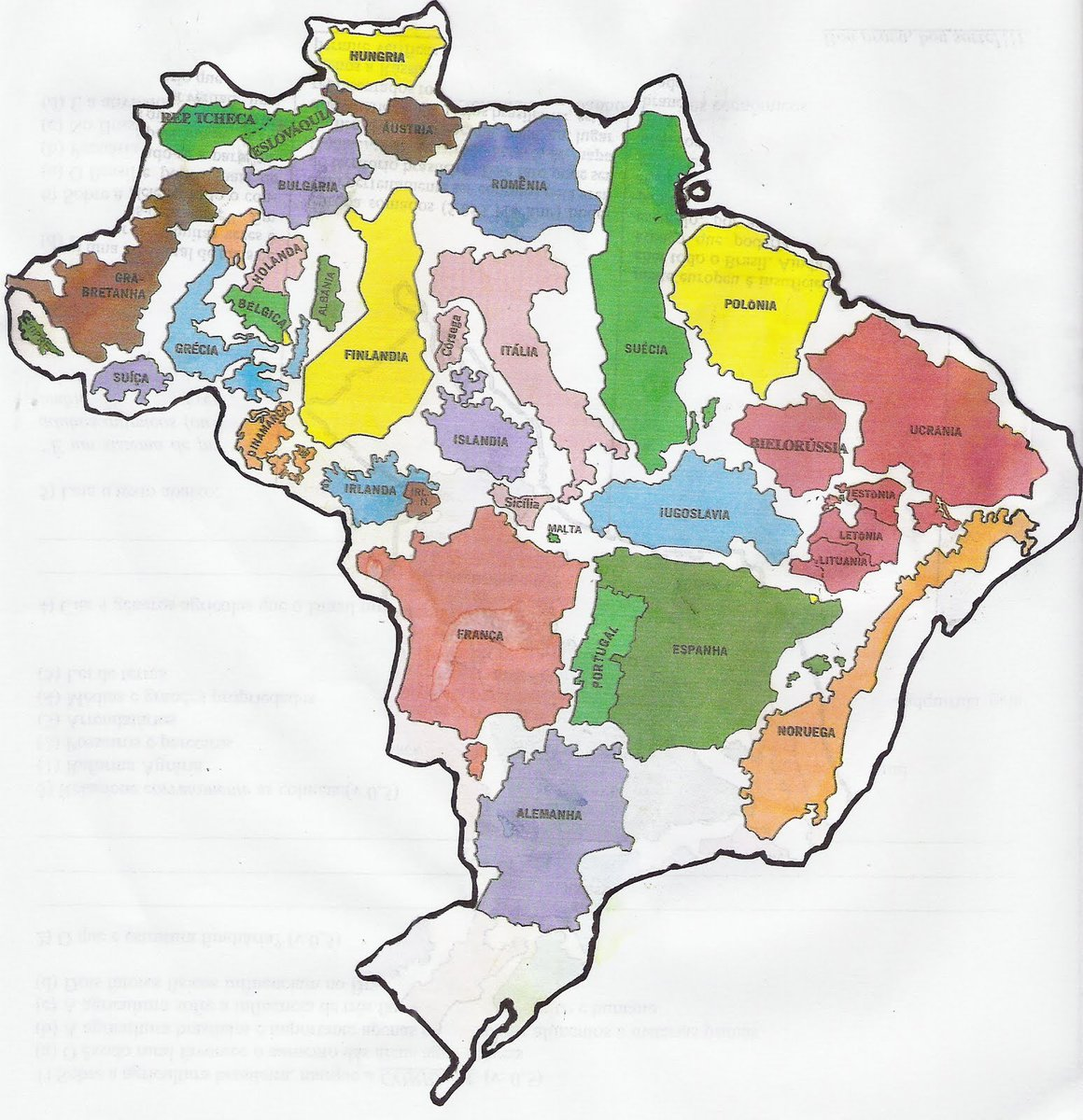 Amazing maps on twitter brazil is not a small country source amazing maps on twitter brazil is not a small country source reddit user supersamuca gumiabroncs Choice Image