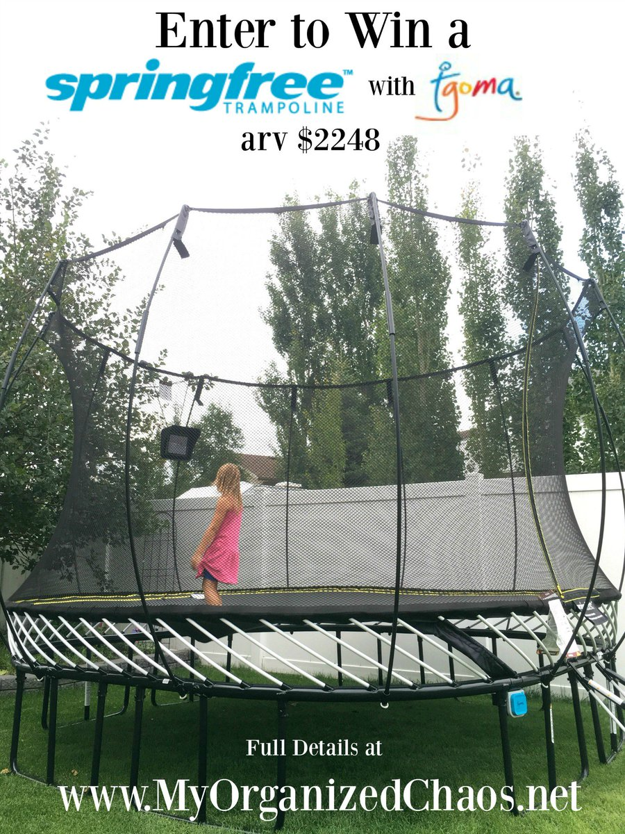 Canadians! Win a @Springfree trampoline with #tgomatime on the blog - arv $2,248! -->https://t.co/idmd1jelch https://t.co/yPchMjzXrY