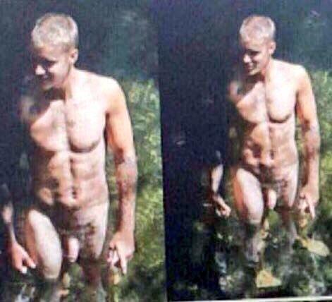 Justin biber nackt