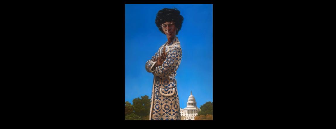 Sarah Schenning On Twitter Minoritykorner After Talking Shirley Chisholm Meet The Most Badass Portrait In The U S Capitol Building