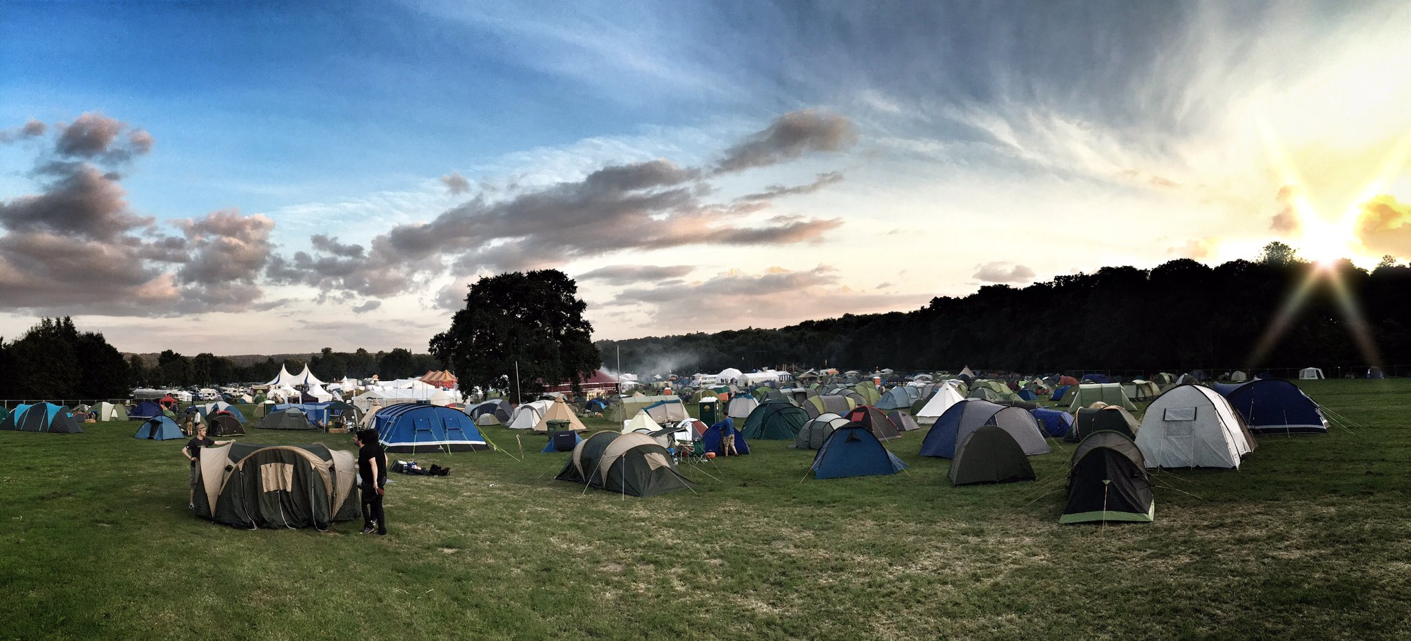 The view from my tent over @emfcamp  #emfcamp #EMF2016 https://t.co/IH3dJWCTXE