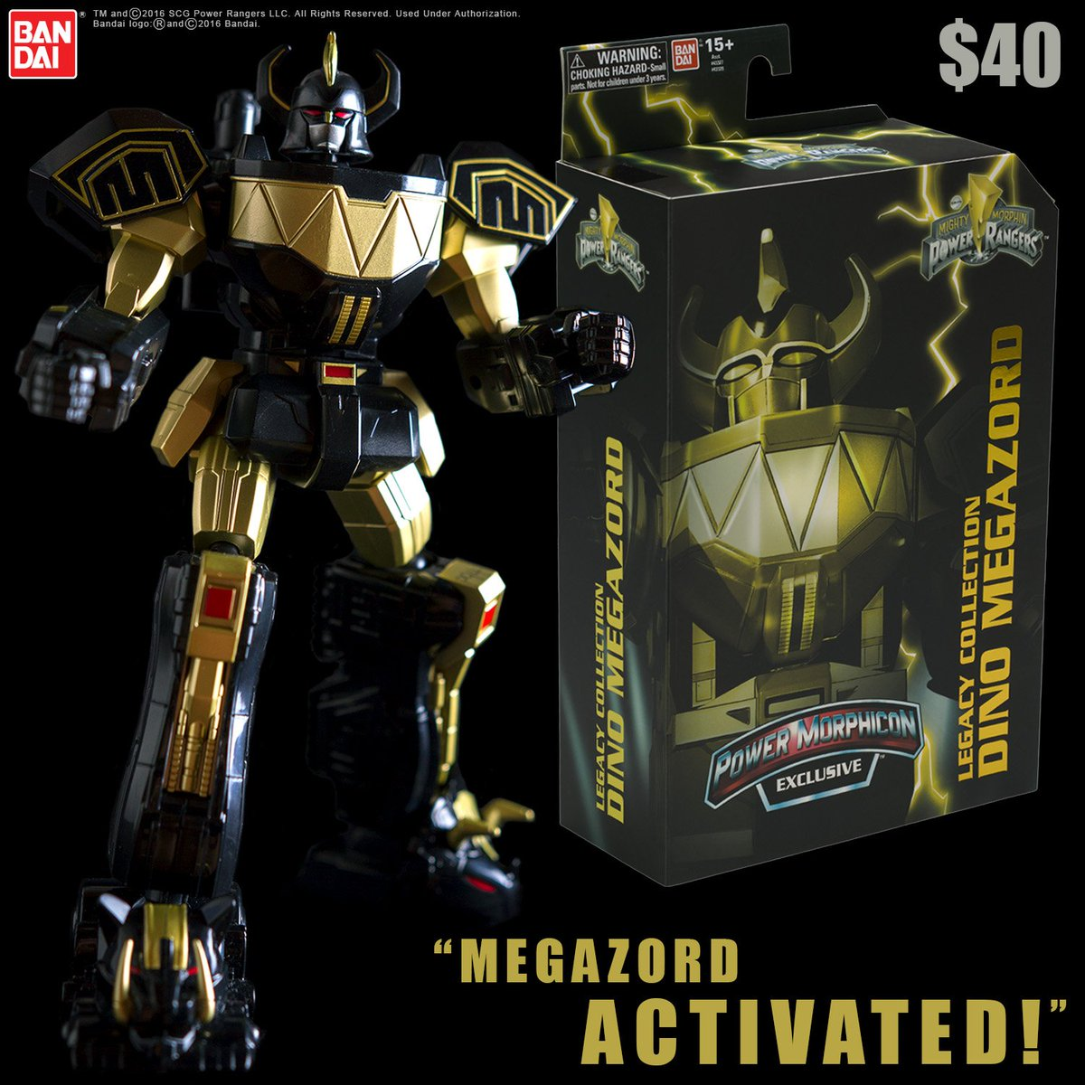 Power Morphicon exclusive alert! Check out our Legacy Collection Dino Megazord. 500 made and ONLY available at PMC! https://t.co/F4mkYvtLEr