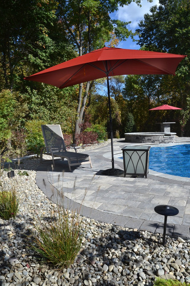 Cst Pavers On Twitter Slate Stone Pool Deck In Deep Creek Grey From The Ultrabelle Collection Of Premium Colors Hardscaping