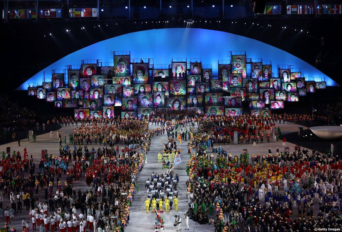 Olympics Opening Ceremony 2016 Rio Kickstarts The Games As It