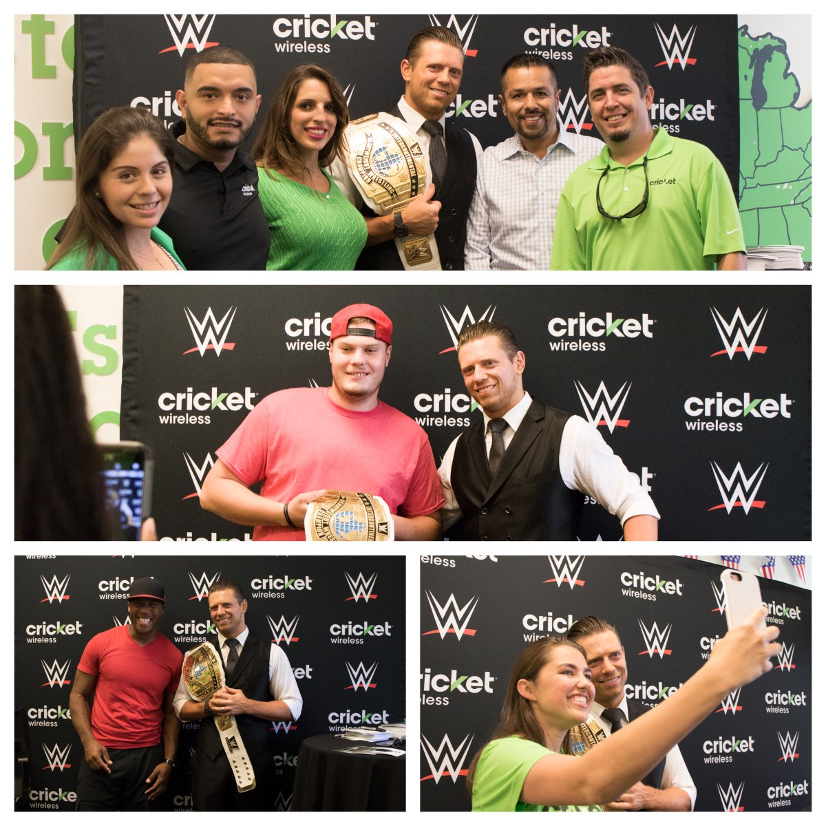 Cricket wireless on twitter we had an awesome time at our meet and cricket wireless on twitter we had an awesome time at our meet and greet with wwe superstar mikethemiz in miami last month httpstrrkiwyqwi1 kristyandbryce Image collections