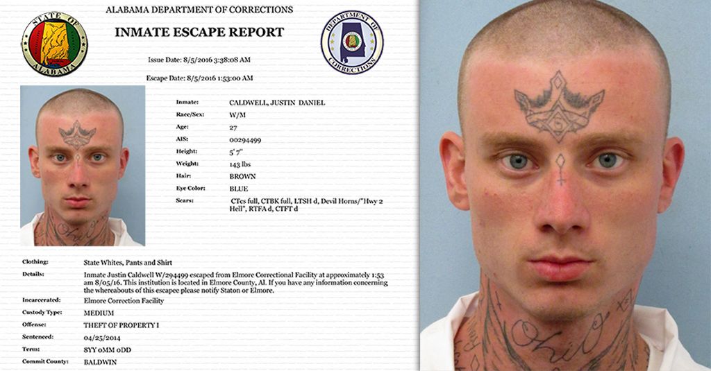 Elmore Correction Facility : ADOC searching inmate escaped