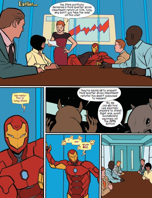 Sneak peek at one of my favorite scenes from October's UNBEATABLE SQUIRREL GIRL BEATS UP THE MARVEL UNIVERSE! OGN: https://t.co/4NEwwPEruw