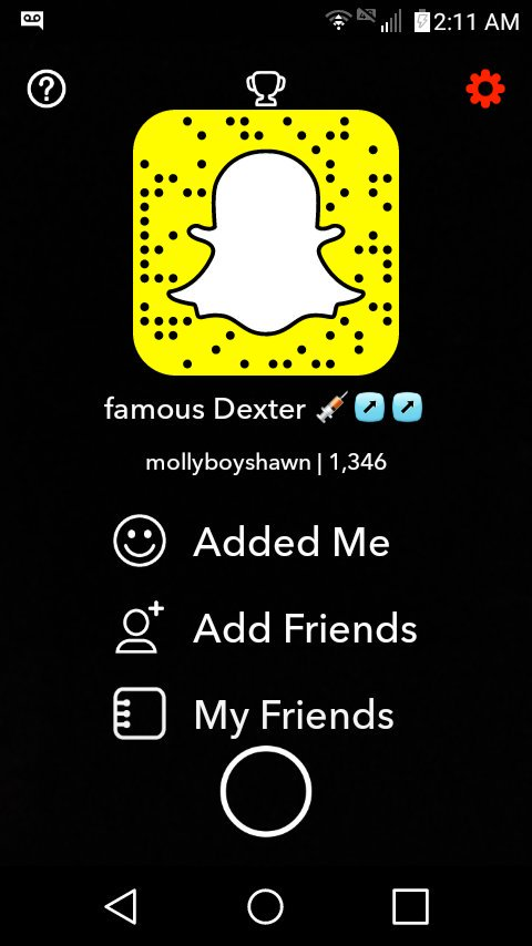 Famous snapchat is What dex