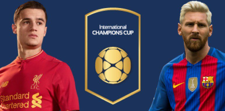 LIVERPOOL BARCELLONA Streaming gratis e Diretta Video Live TV ICC 06-08-2016