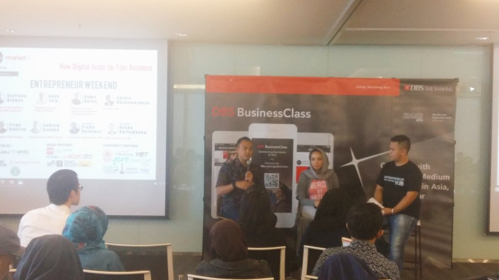 Season 2 with @ramadatau  @shintabubu  @EHub_ID #entrepreneurweekend https://t.co/ubIkdLDoOV