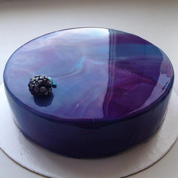 Зеркальная глазурь для торта рецепт с фото