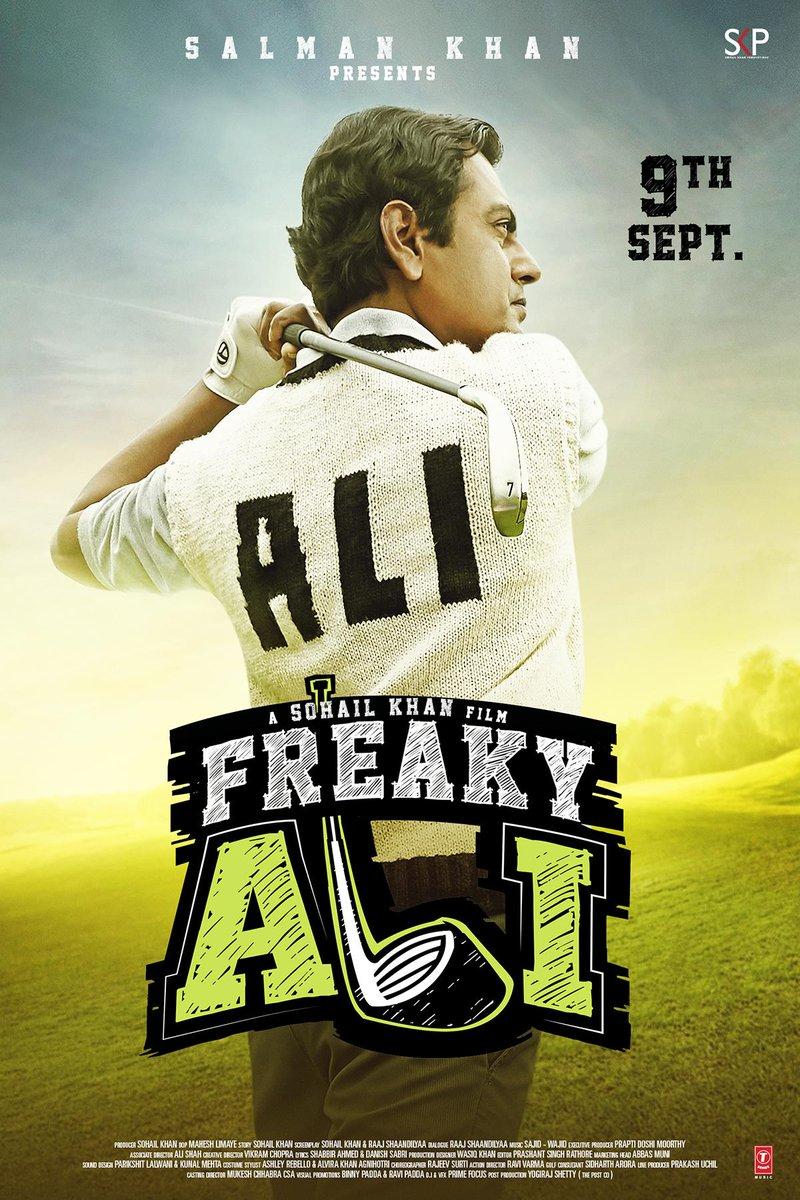 Freaky Ali First Look starring Nawazuddin Siddiqui