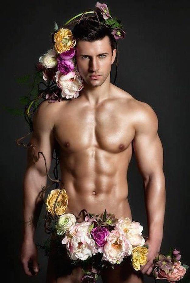 Днем, картинки с днем рождения парни с цветами