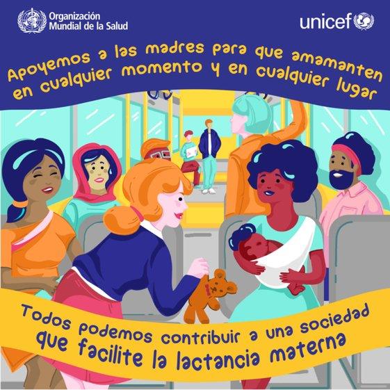 """OMS: dejar a mujeres amamantar hijos """"en cualquier momento y en cualquier lugar"""" https://t.co/Kpn96v7YuA https://t.co/ifYTtJWYrI"""