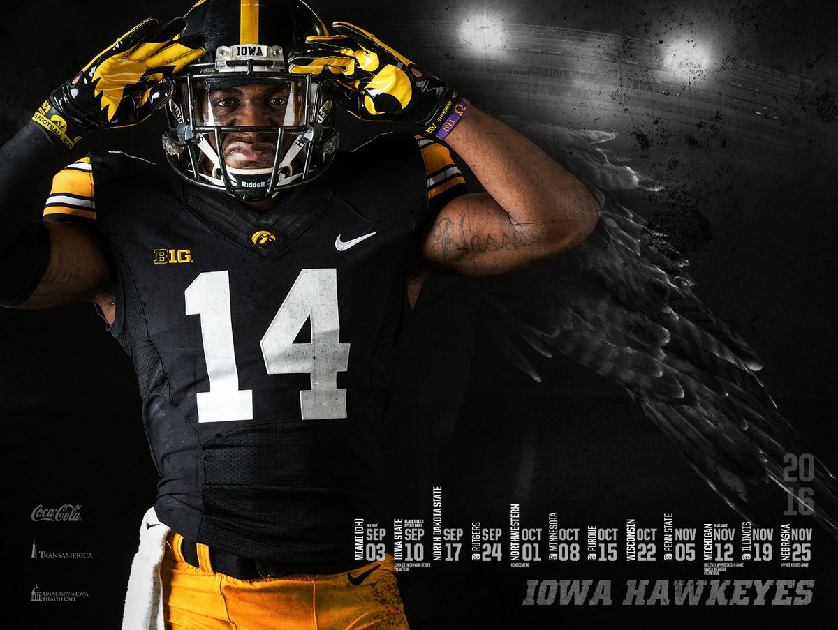 Hawkeye Football On Twitter Get Your Desmond King Schedule Poster Starting Monday In Carver Hawkeye Arena Swarmkinnick