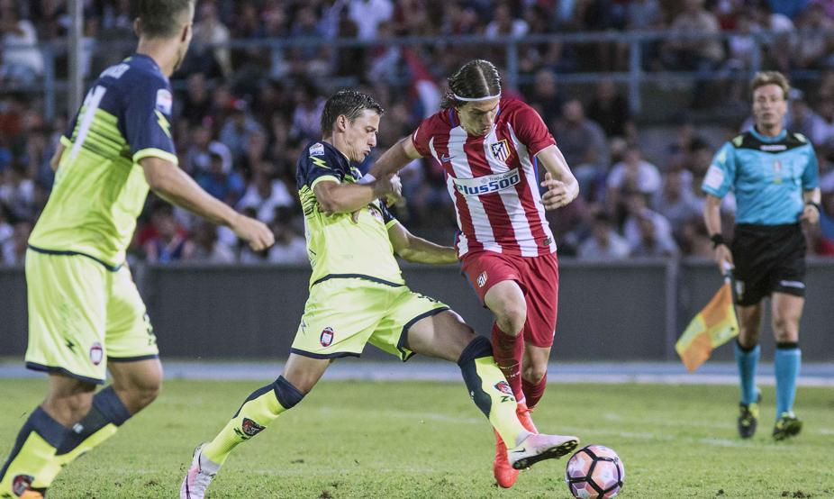Crotone-Atletico Madrid 0-2 Video gol e sintesi