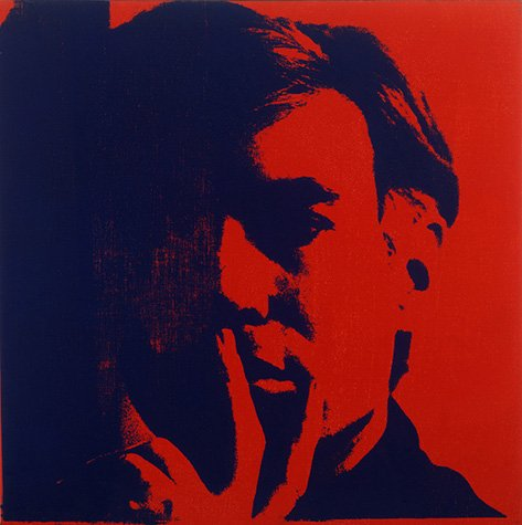 """Today Warhol would have been 88. What gift would you give him? #warholBirthday Warhol, """"Self-Portrait,"""" 1966–67 ©AWF https://t.co/SG2gWphHsn"""