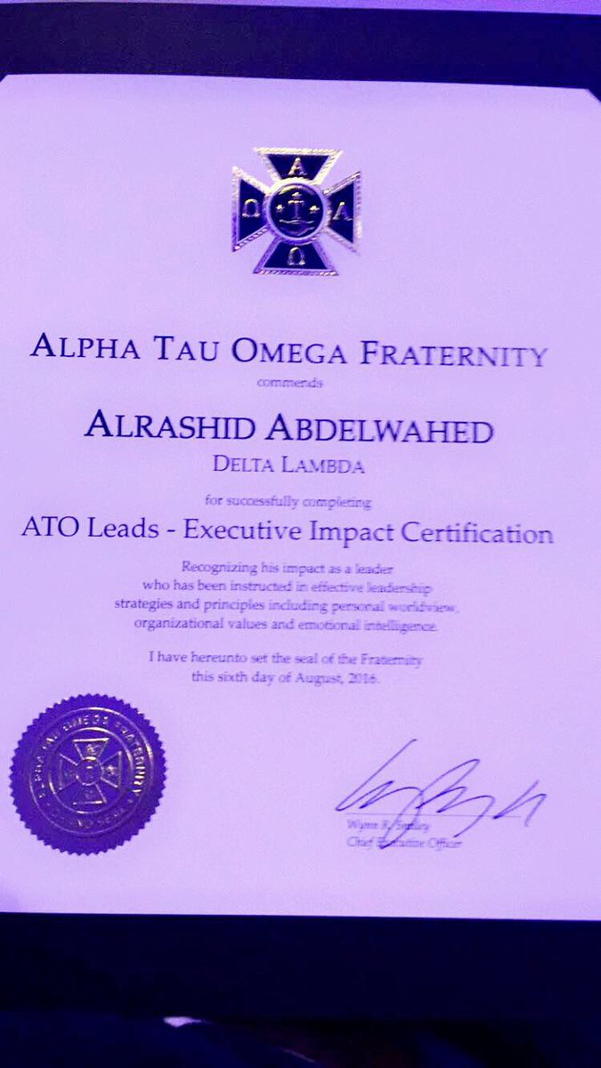 Alpha Tau Omega Uc On Twitter Congrats To Brother
