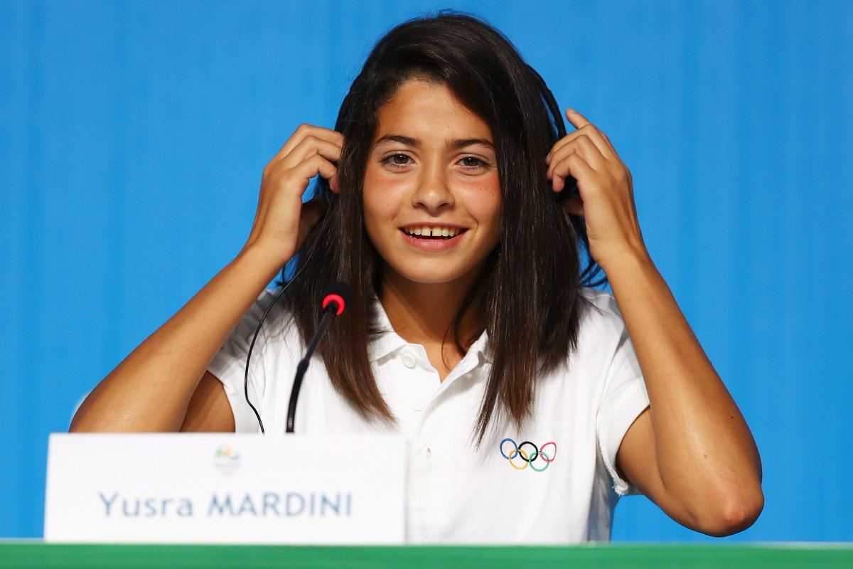Olympic refugee Yusra Mardini wins her 100m butterfly heat, a year after swimming for life: https://t.co/tS0NC7MsVQ https://t.co/AVp8KNCvAD